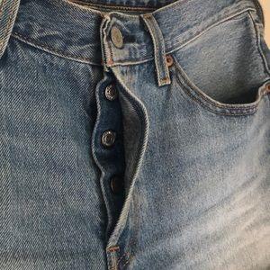 Levi's Shorts - Levi's 501 high rise button fly shorts SZ 30